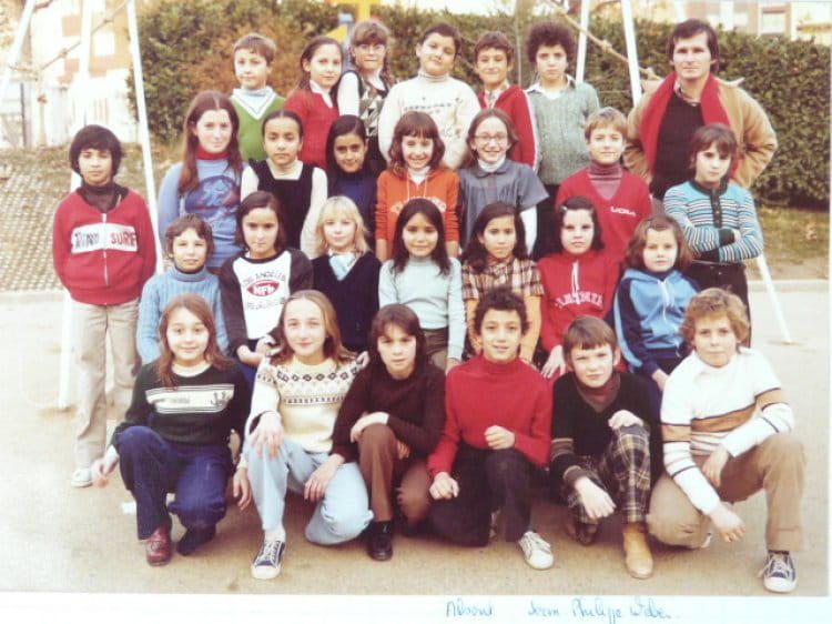 CM 2 1980 - ECOLE JEAN VILAR