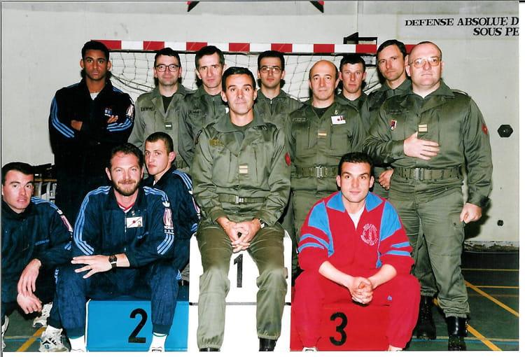 Equipe des sports 57RA 1995 - 57E REGIMENT D ARTILLERIE
