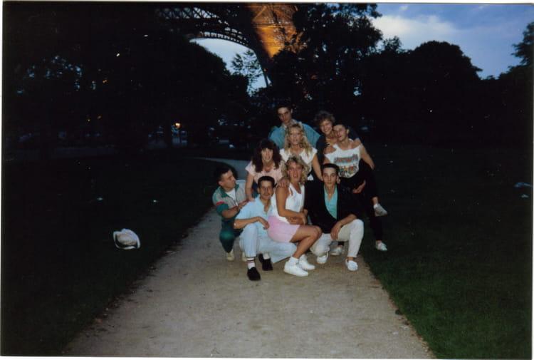 A PARIS 14 JUILLET 88 1987 - 57E REGIMENT D ARTILLERIE