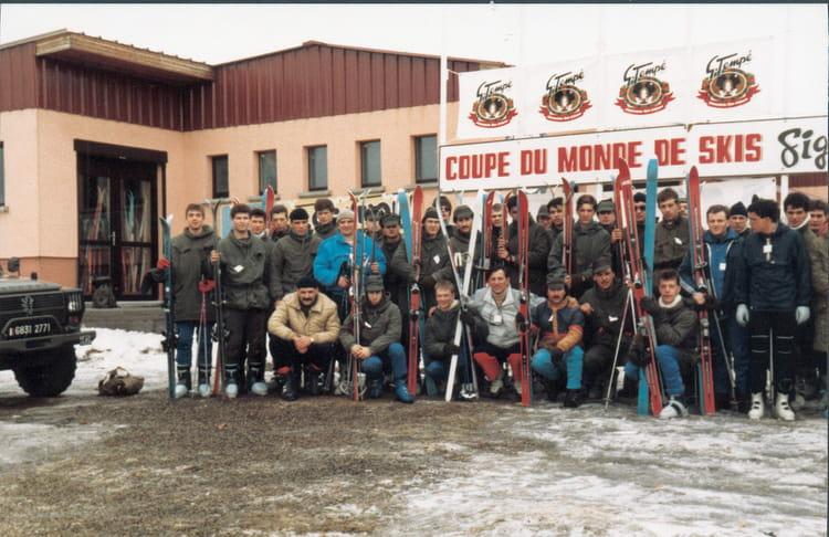 le 57e RA dans les Vosges 1987 - 57E REGIMENT D ARTILLERIE