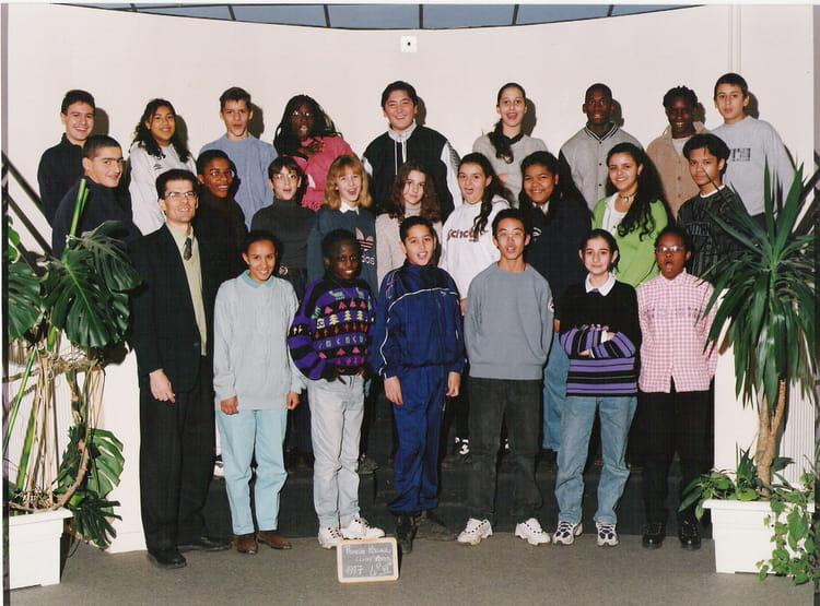Photo de classe 4 me de 1997 coll ge romain rolland copains d 39 avant - Cecile bois vie privee ...