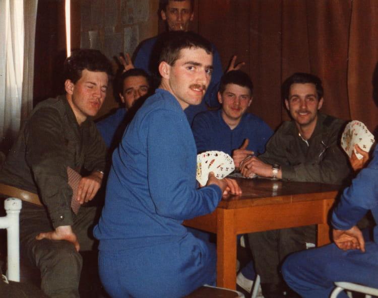 soirée en B11 1984 - 57E REGIMENT D ARTILLERIE