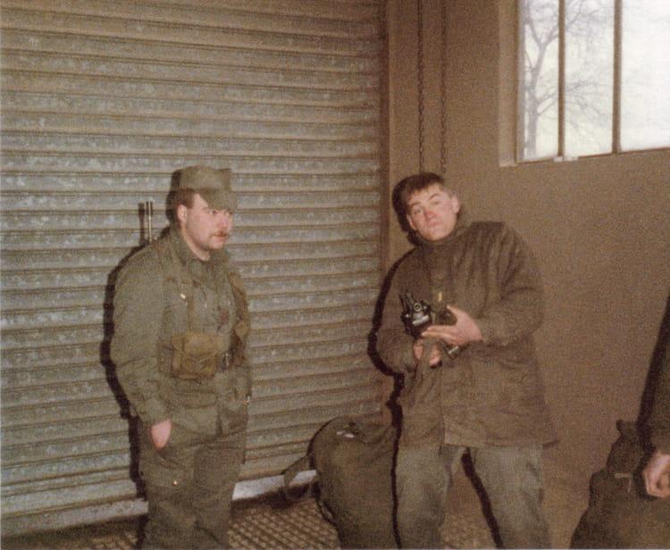 FRANCK ET ? 1987 - 57E REGIMENT D ARTILLERIE