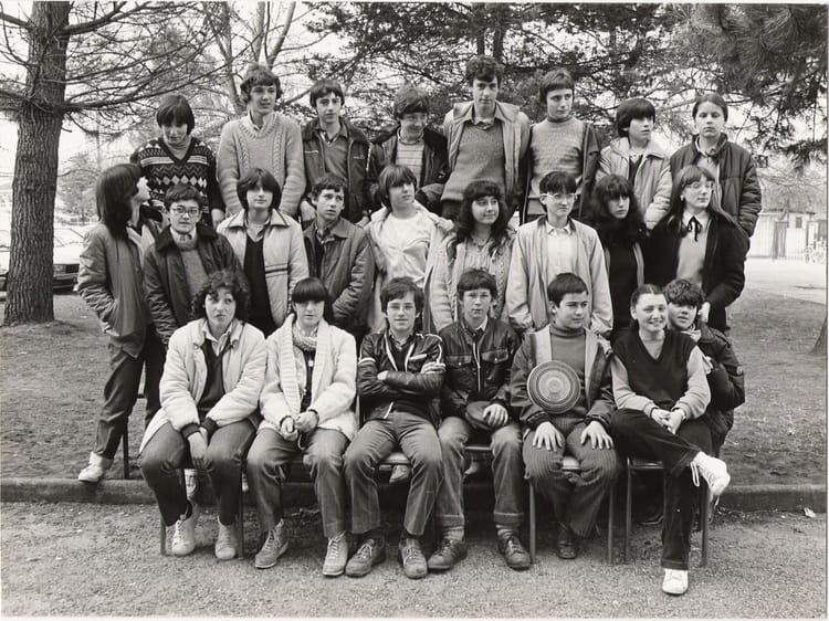 photo de classe 3 176 8 de 1980 coll 232 ge victor duruy copains d avant