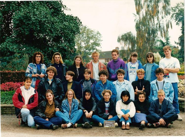 Photo de classe bepa2b roville 94 95 de 1994 ecole d for Horticulture et paysage