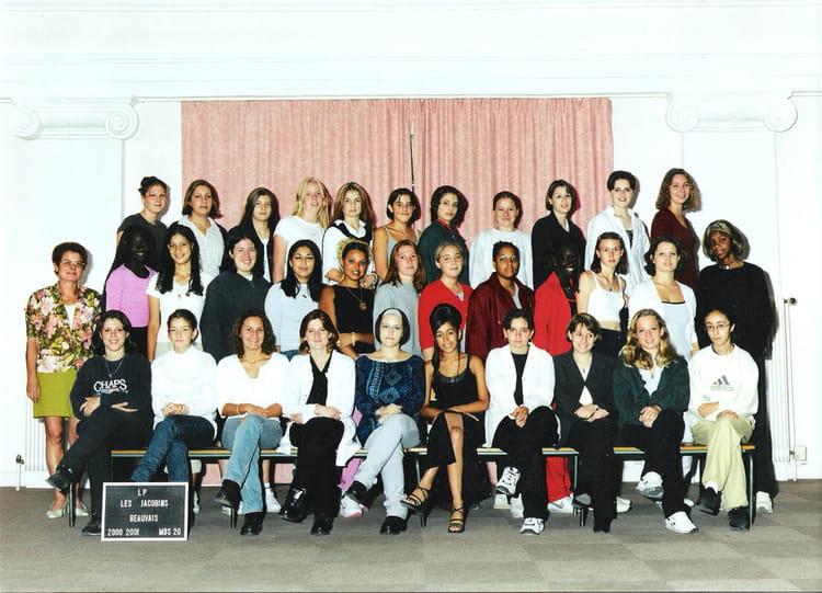 Photo de classe mds20 de 2000 lyc e professionnel des - Lycee jacobins beauvais portes ouvertes ...