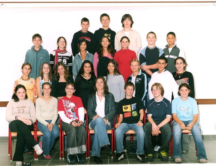 Photo de classe 3 a de 2006 coll ge amp re copains d 39 avant - Charline vanhoenacker vie privee ...