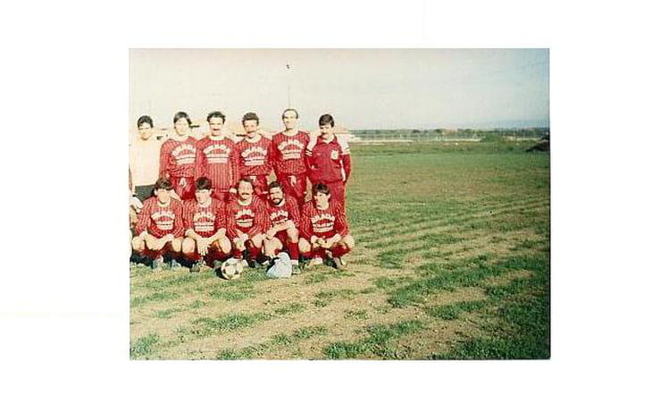 Séniors I saison 87 88 1987 - AS CORNAS