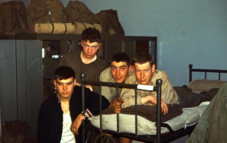 1967 - soirée à La Courtine  - 1er RCP - RASURA 1577596