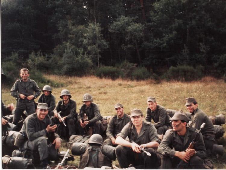manoeuvre 1986 - 57E REGIMENT D ARTILLERIE