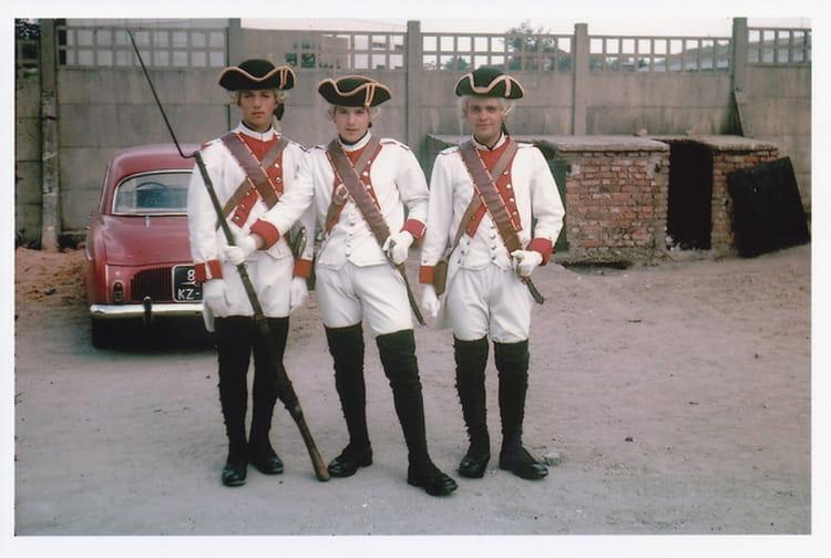 Fête du régiment à Bitche 1964 - 1ER R.I.M.