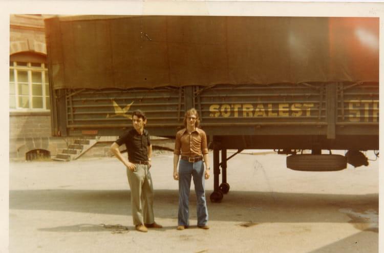 Sce Arrivages BISCHHEIM 1970 - Transport SOTRALEST