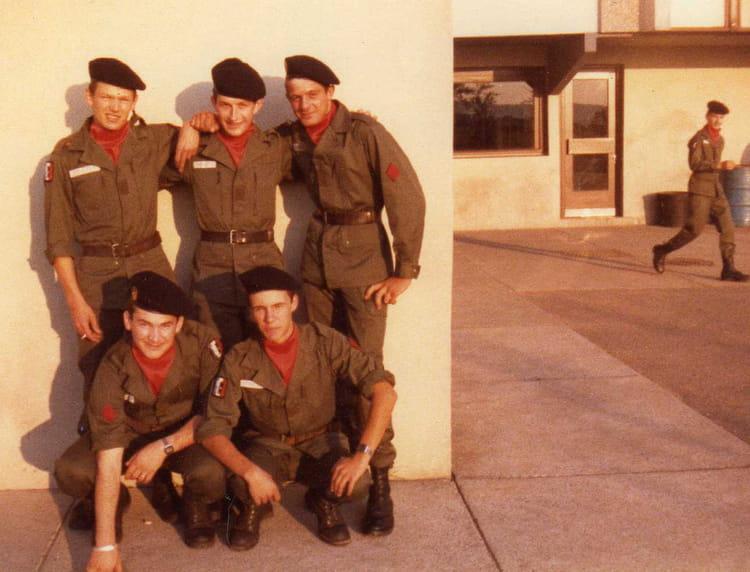 2 mois de classes en B11 1981 - 57E REGIMENT D ARTILLERIE