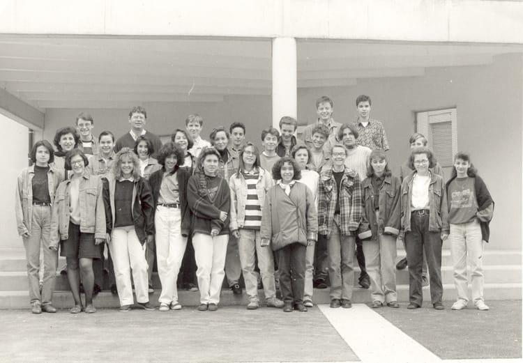 Photo de classe 4 me a de 1991 coll ge du jardin des - College du jardin des plantes poitiers ...