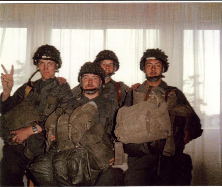 equipe d'enfer 1987 - 57E REGIMENT D ARTILLERIE