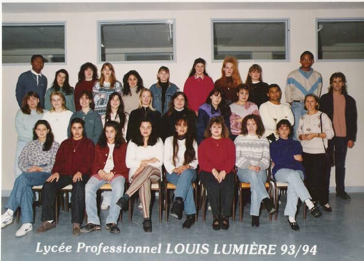 photo de classe compta secretariat de 1993 lyc 233 e professionnel louis lumi 232 re copains d avant