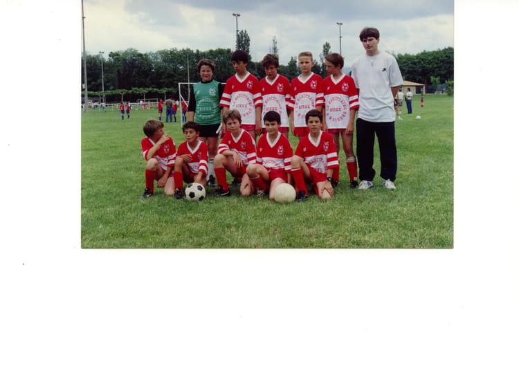 Pupilles saison 91-92 1991 - AS CORNAS
