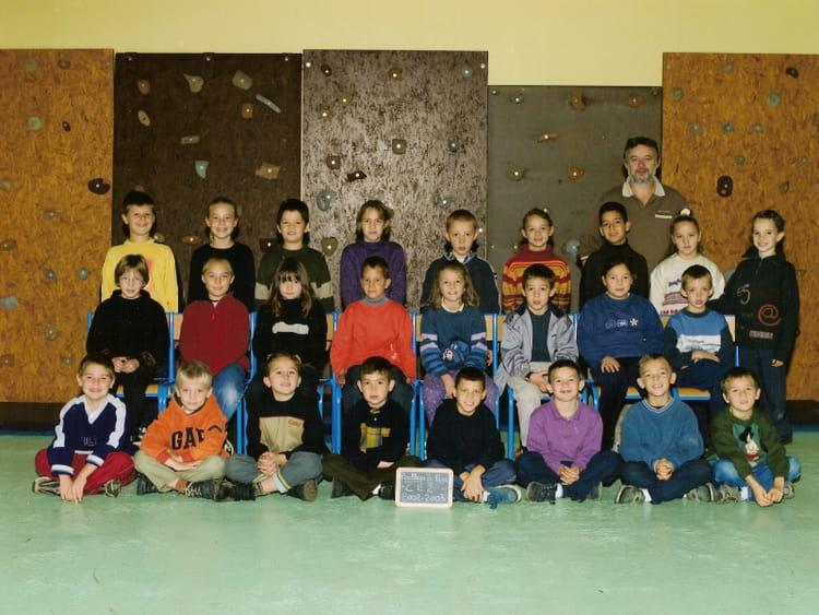 Photo de classe ce2 de 2002 ecole jacques prevert for Garage bailleau le pin