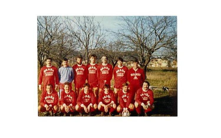 Séniors I saison 86 87 1986 - AS CORNAS