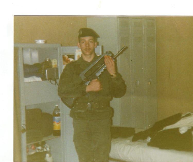 prise de garde 1991 - 4EME CUIRASSIERS