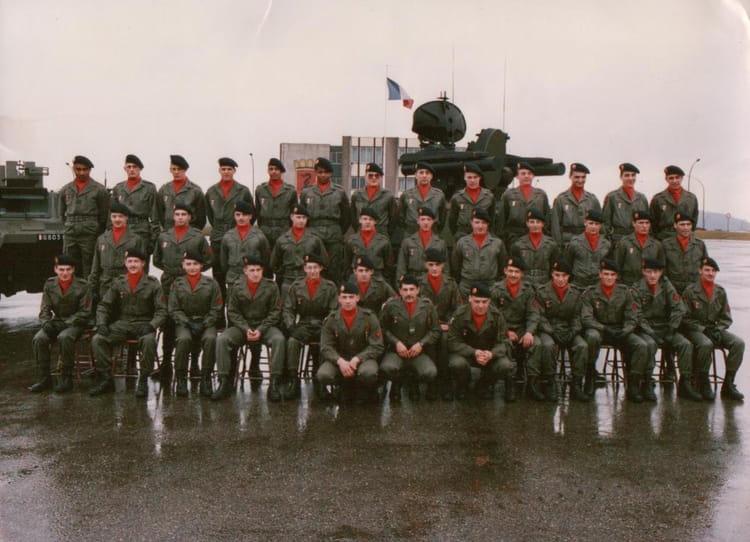 la batterie b4 1989 - 57E REGIMENT D ARTILLERIE