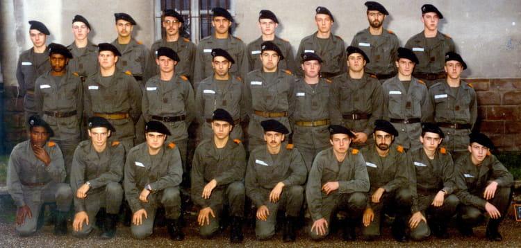 la 84/10 11 eme escadron 1984 - 4EME CUIRASSIERS