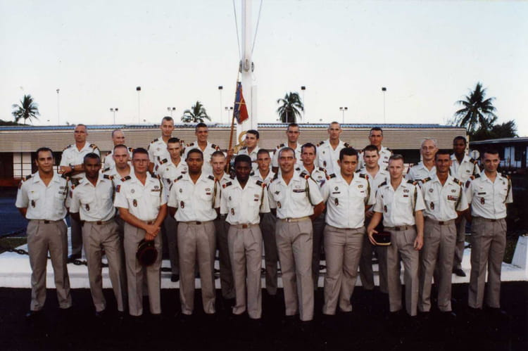 detachement en polynesie (les brigadiers-chef) 2000 - 57E REGIMENT D ARTILLERIE