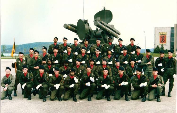 LA 87/12 1988 - 57E REGIMENT D ARTILLERIE