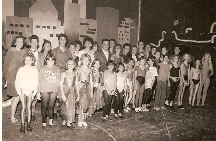 Troupe Starmania 1990 - OMJASE
