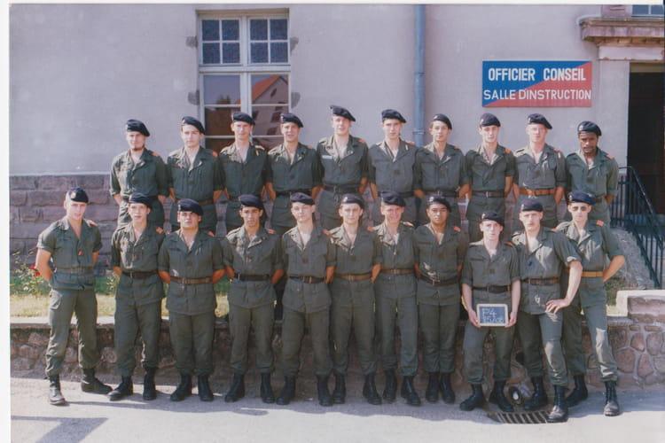 85/08 1985 - 4EME CUIRASSIERS