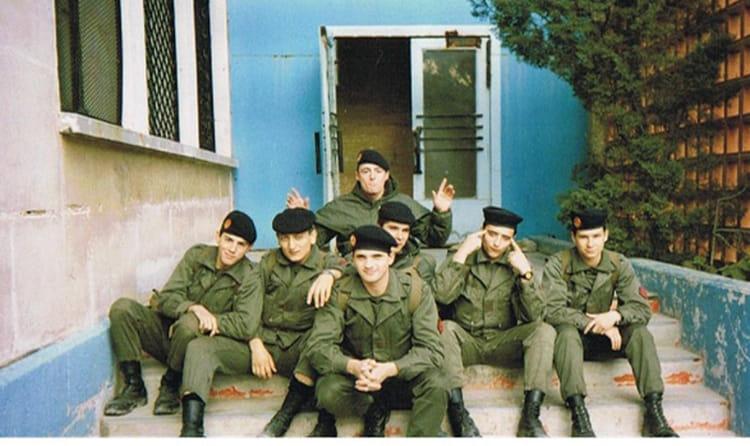 les pilotes de la 88/10 1988 - 57E REGIMENT D ARTILLERIE