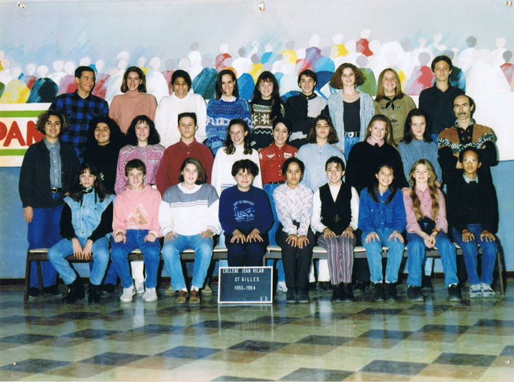 photo de classe 3 me3 de 1993 coll ge jean vilar copains d 39 avant. Black Bedroom Furniture Sets. Home Design Ideas