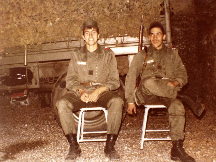en manoeuvre 1980 - 57E REGIMENT D ARTILLERIE