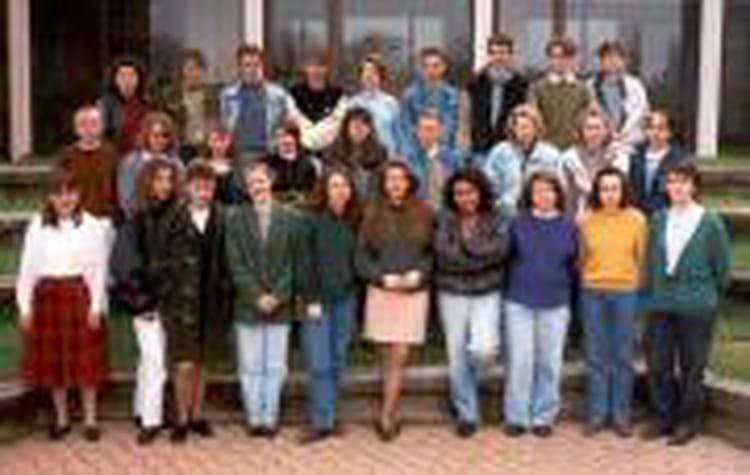 photo de classe bep de 1990 lyc 233 e de la salle copains d avant