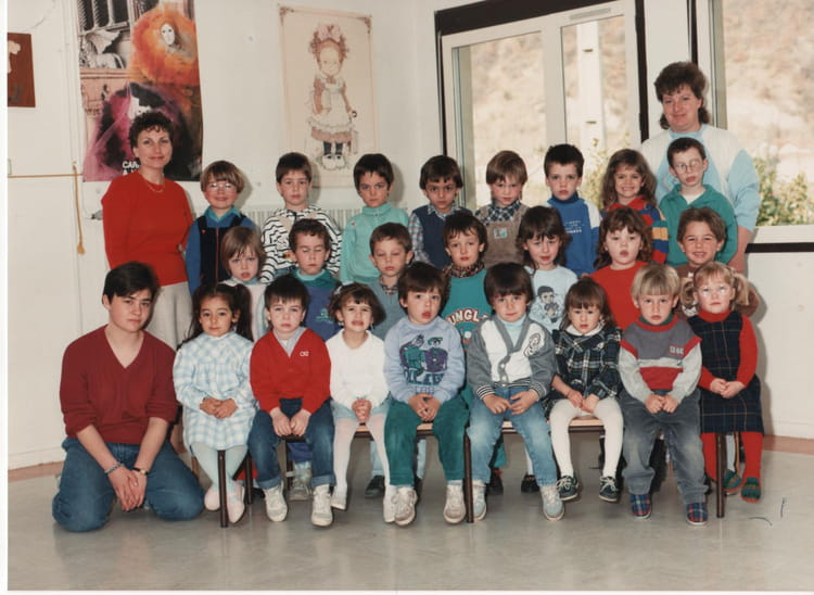 Maternelle 1986 - ECOLE MARIE SAC