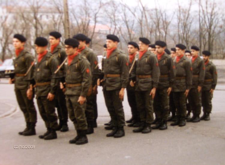 Entrainement defilé 1981 - 57E REGIMENT D ARTILLERIE