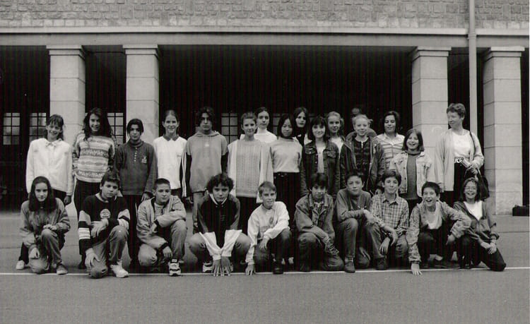 Photo de classe 5 me a de 1995 coll ge du jardin des plantes copains d 39 avant - College du jardin des plantes poitiers ...
