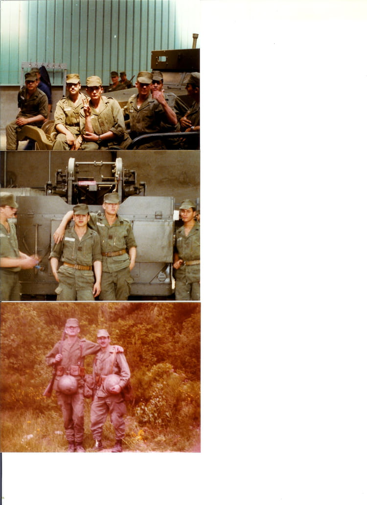 57 ème RA BITCHE 1977 - 57E REGIMENT D ARTILLERIE