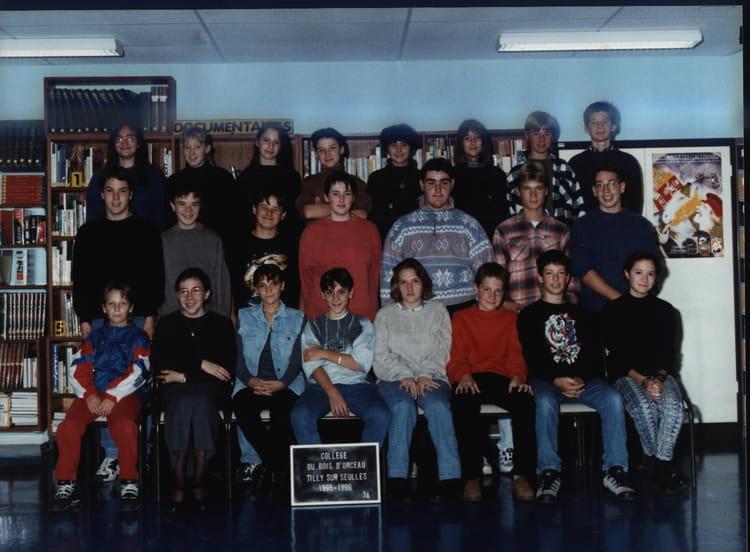 Photo de classe > COLLÈGE DU BOIS DORCEAU ~ College Bois D Orceau