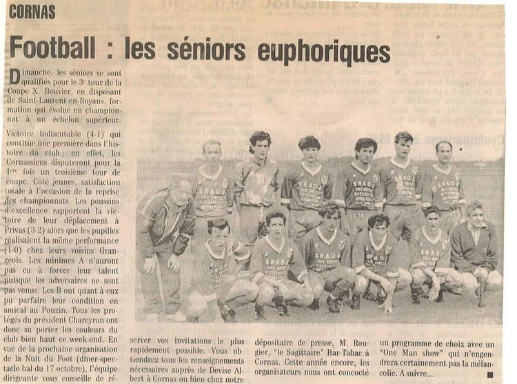 Séniors I 1992-93 1993 - AS CORNAS