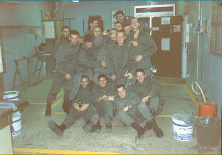 octobre 96 1996 - 57E REGIMENT D ARTILLERIE