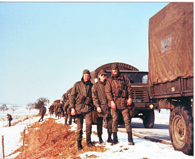 MANOEUVRE DE BITCHE 1986 4EME BATTERIE 51 RA 1985 - 51 EME RÉGIMENT D'ARTILLERIE