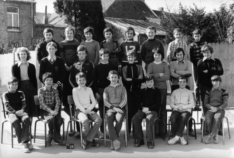 photo de classe 6 232 me ou 5 232 me de 1978 coll 232 ge jean baptiste de la salle copains d avant