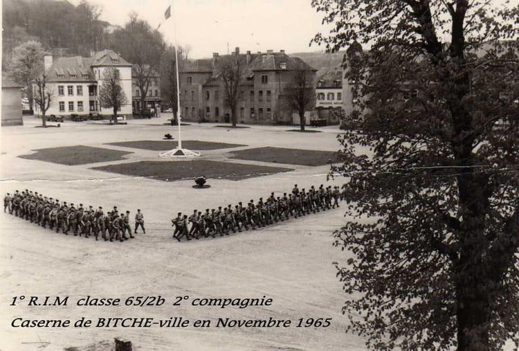 1° R.I.M quartier Bitche - ville 1965 - 1ER R.I.M.