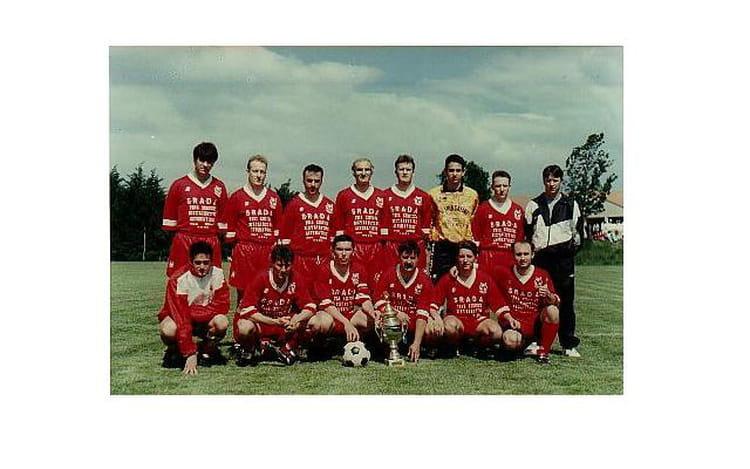 Sénior II saison 94 95 1994 - AS CORNAS