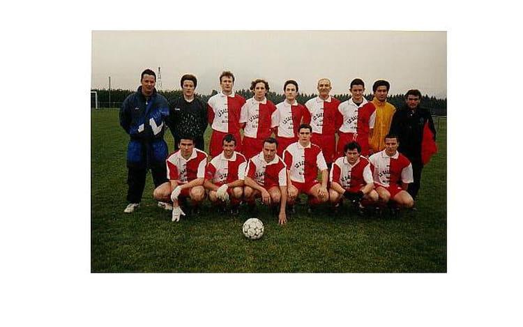 Sénior II saison 96 97 1996 - AS CORNAS
