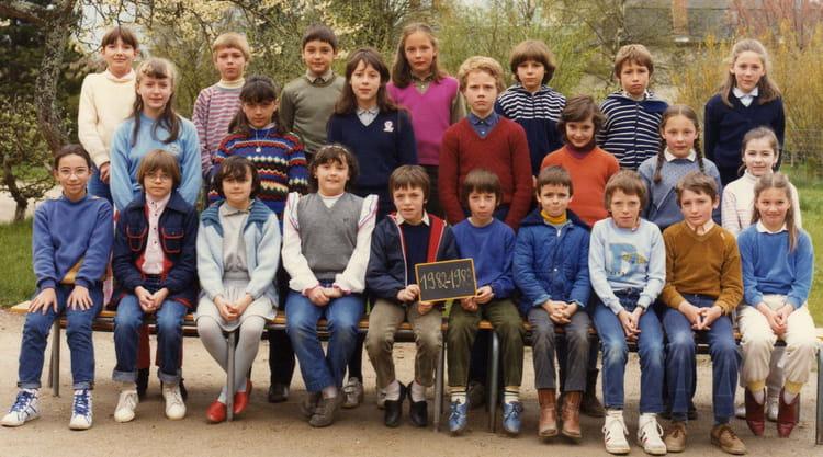 Photo de classe cm2 cosne d 39 allier 03430 de 1982 ecole for Garage cosne d allier