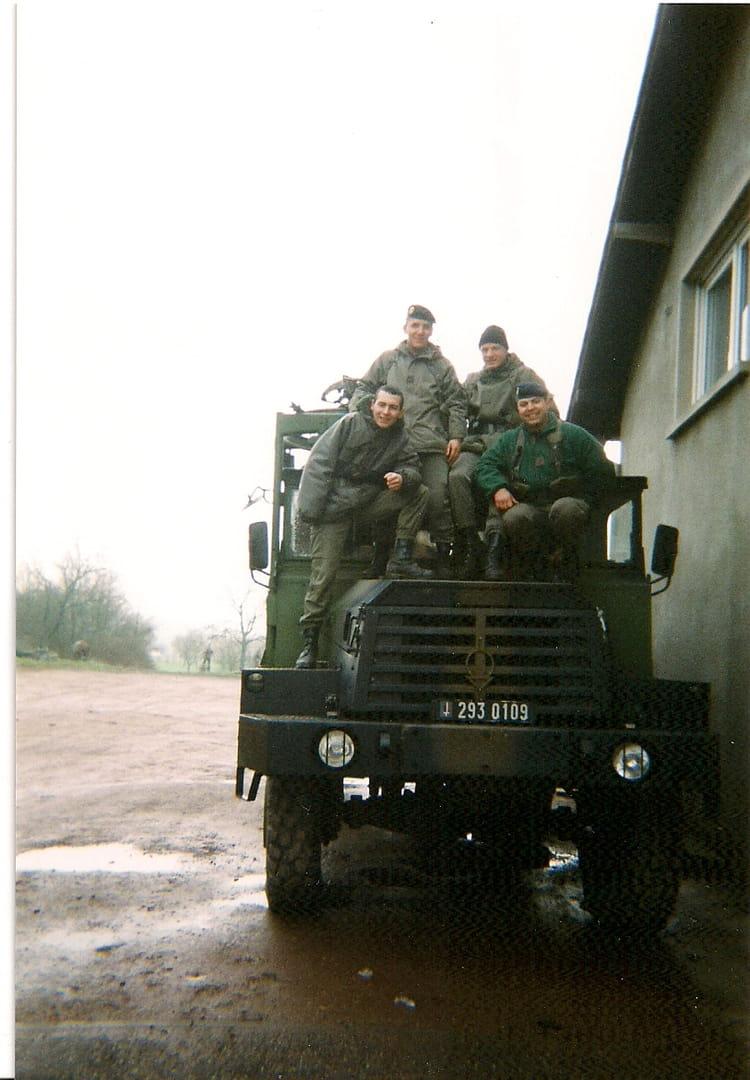 MANOEUVRE 1998 - 57E REGIMENT D ARTILLERIE
