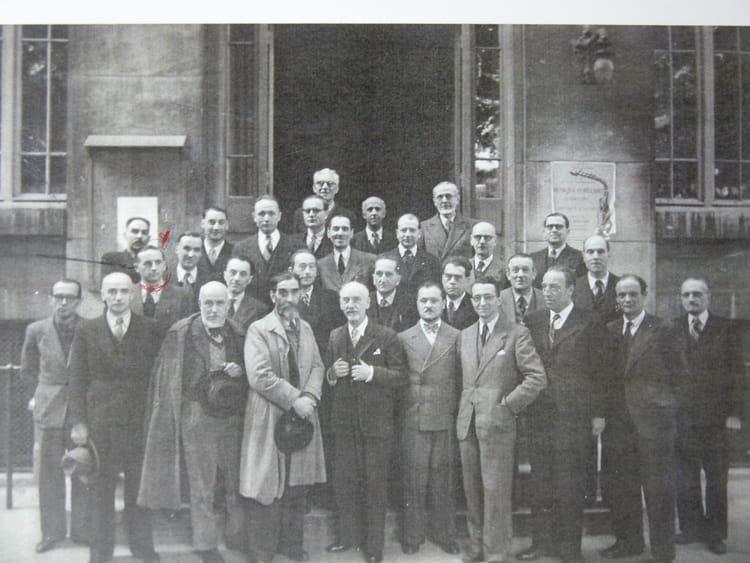les Prof. de Boulle 45/46 ? 1946 - ECOLE BOULLE