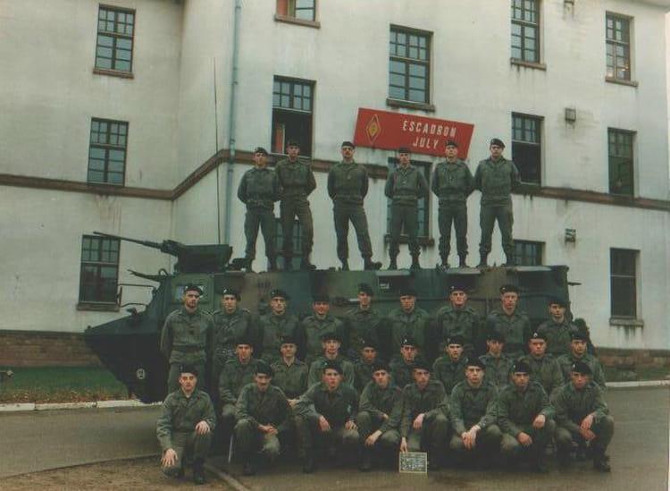 4ème Cuirassiers Déc93-Oct94 1993 - 4EME CUIRASSIERS